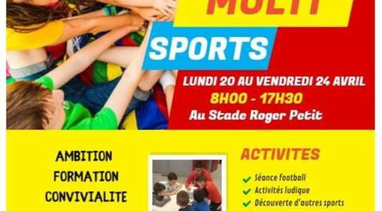 Stage Multi-Sports d'Avril
